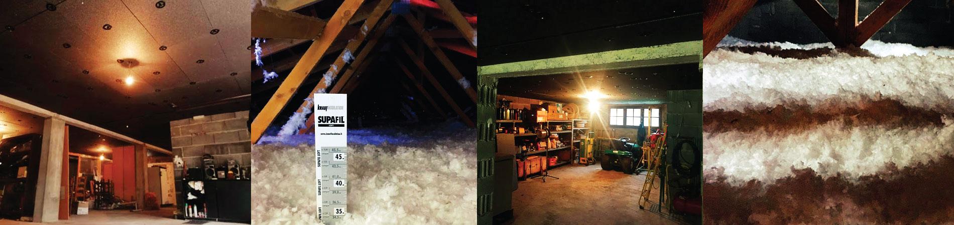 Exemples d'isolation des combles et aménagements intérieurs par i2A Habitat